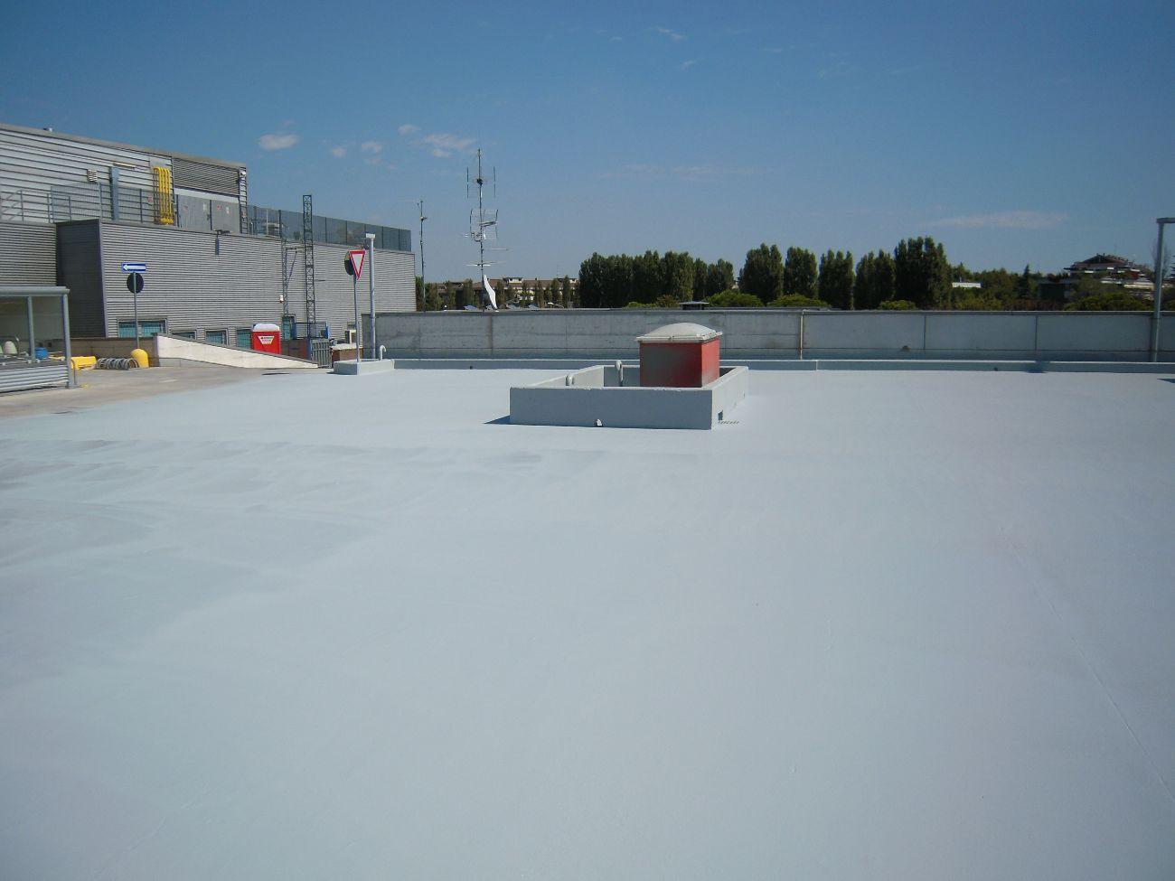 impermeabilizzazione tetto con resine